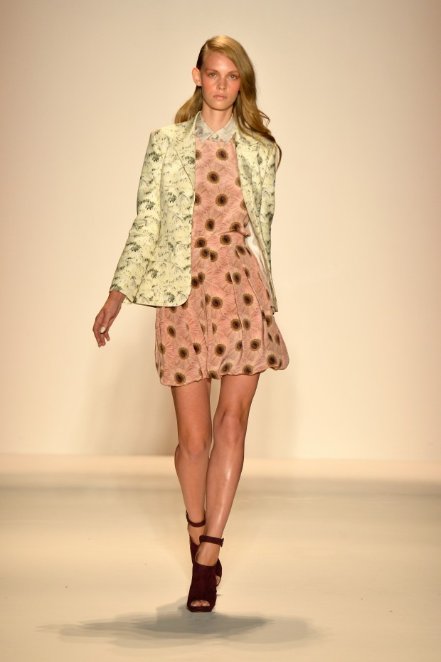 Noon By Noor - Runway - Mercedes-Benz Fashion Week Spring 2014