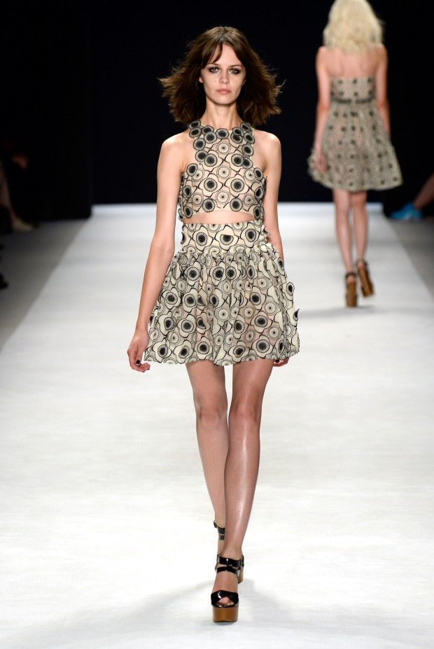 Jill Stuart - Runway - Mercedes-Benz Fashion Week Spring 2014