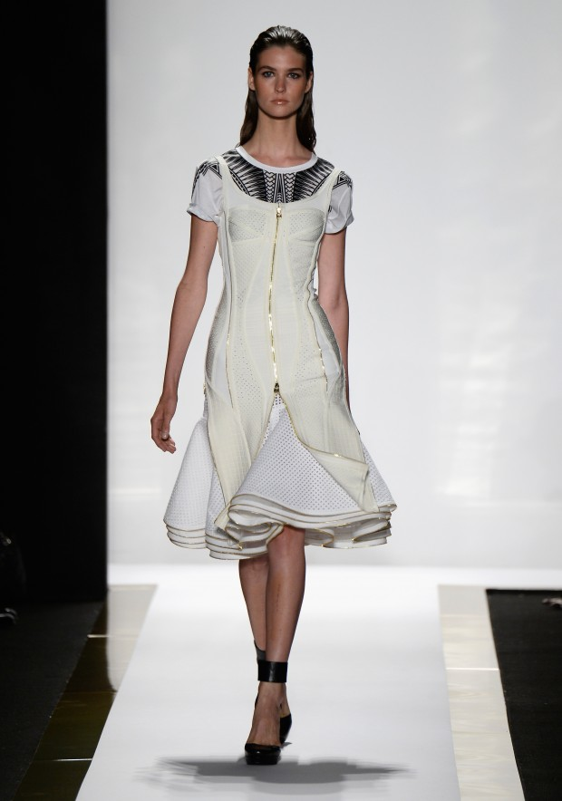 Herve Leger By Max Azria - Runway - Mercedes-Benz Fashion Week Spring 2014