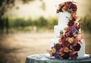 24 Great Ideas for Fall Wedding Cake Decoration - Wedding Cake, wedding, Fall