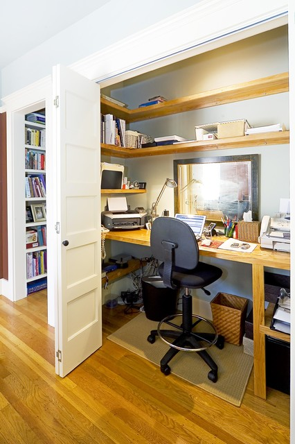 20 amazing home office design ideas style motivation - Creating a small home office ...
