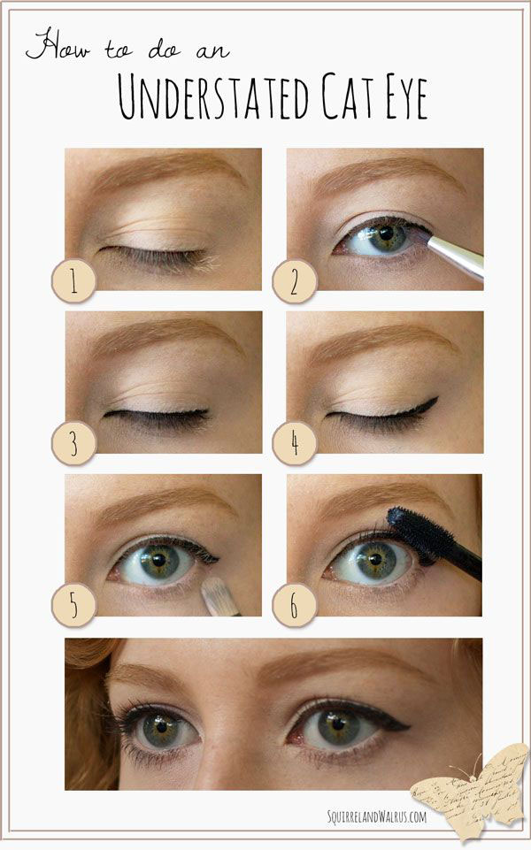 20 Great and Helpful Ideas, Tutorials and Tips for Perfect Makeup (1)