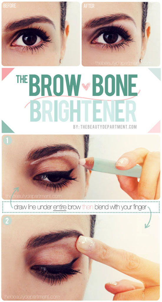 20 Great and Helpful Ideas, Tutorials and Tips for Perfect Makeup (12)