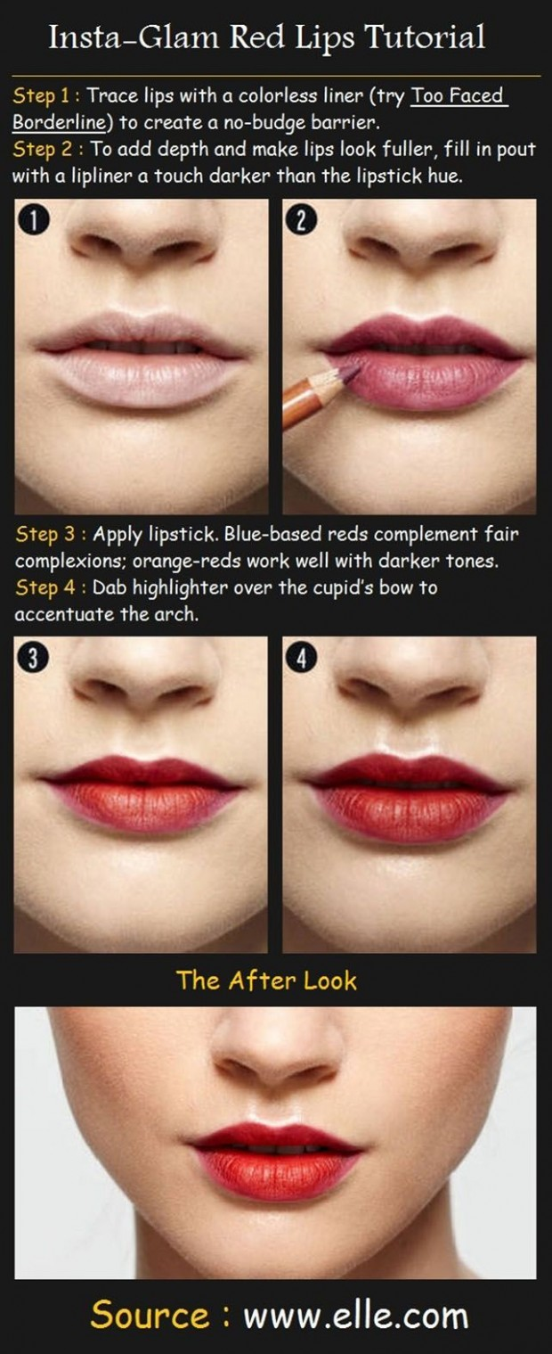 20 Great and Helpful Ideas, Tutorials and Tips for Perfect Makeup (8)