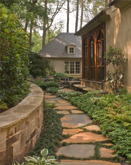20 Landscape Outdoor Area Design Ideas in Traditional Style (13)