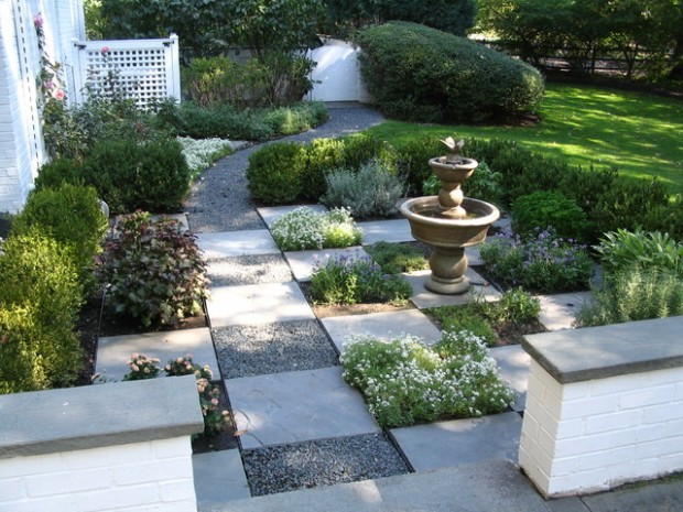 20 Landscape Outdoor Area Design Ideas in Traditional Style (18)