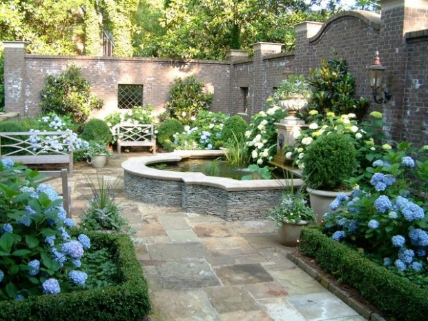 20 Landscape Outdoor Area Design Ideas in Traditional Style (19)