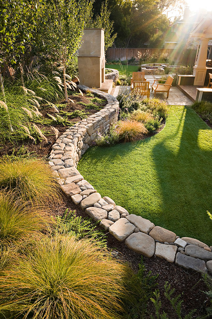 20 Landscape Outdoor Area Design Ideas in Traditional Style (7)