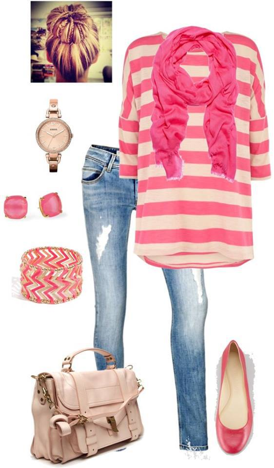 20 Stylish Combinations in Bright Colors for Fall Days (10)