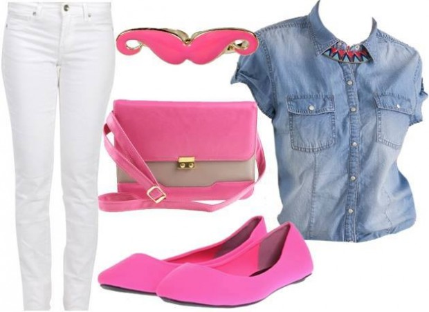 20 Stylish Combinations in Bright Colors for Fall Days (12)