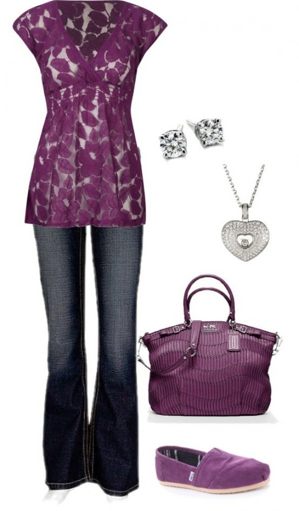 20 Stylish Combinations in Bright Colors for Fall Days (6)