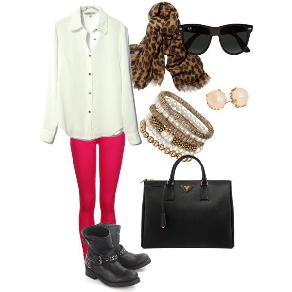 20 Stylish Combinations in Bright Colors for Fall Days