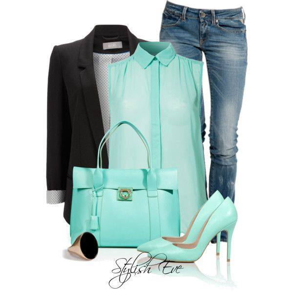 20 Stylish Combinations in Bright Colors for Fall Days (9)
