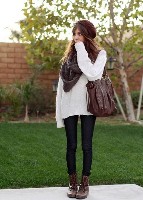 21 Stylish Outfit Ideas for Cold Days (1)