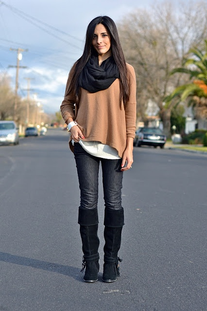 21 Stylish Outfit Ideas for Cold Days (11)