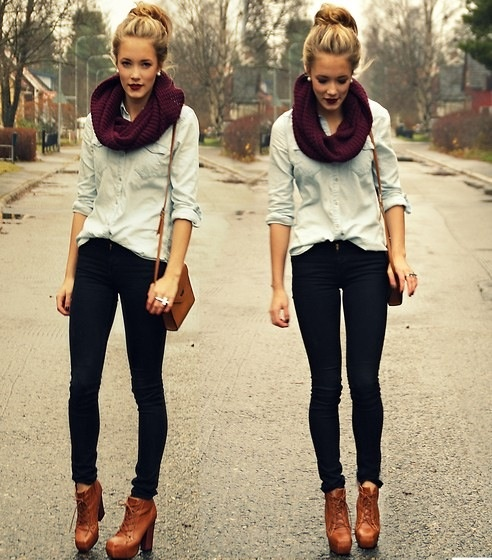 21 Stylish Outfit Ideas for Cold Days (8)