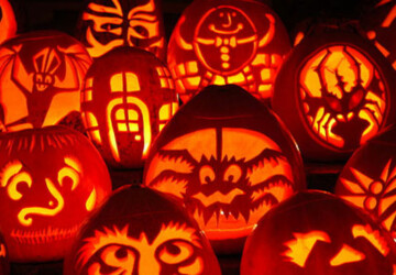 22 Great Creepy Pumpkin Decorations for Halloween  - Pumpkin Decorations, Pumpkin, Halloween party, Halloween decorations, halloween