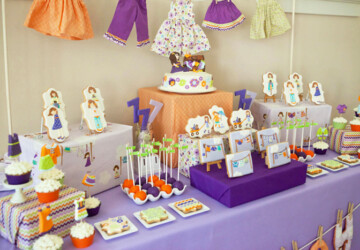 22 Cute and Fun Kids Birthday Party Decoration Ideas - kids birthday party, decoration, birthday party, Birthday