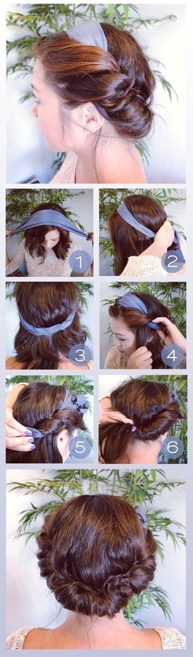 23 Gorgeous Hairstyle Ideas and Tutorials that can be done in 10 minutes  (12)