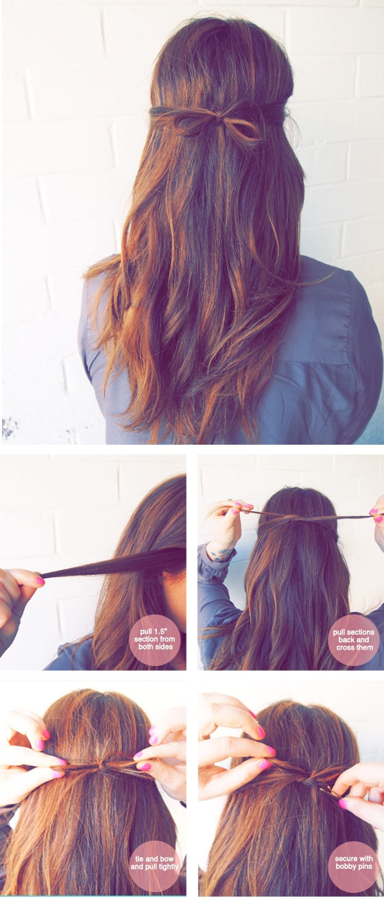 23 Gorgeous Hairstyle Ideas and Tutorials that can be done in 10 minutes  (13)