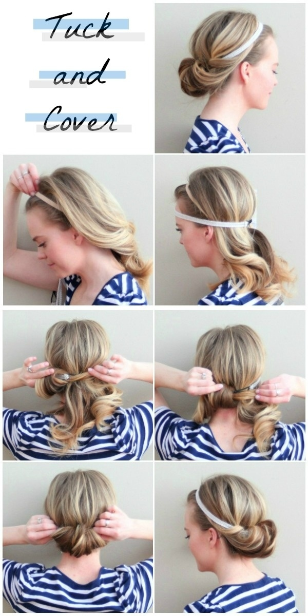 23 Gorgeous Hairstyle Ideas and Tutorials that can be done in 10 minutes  (16)