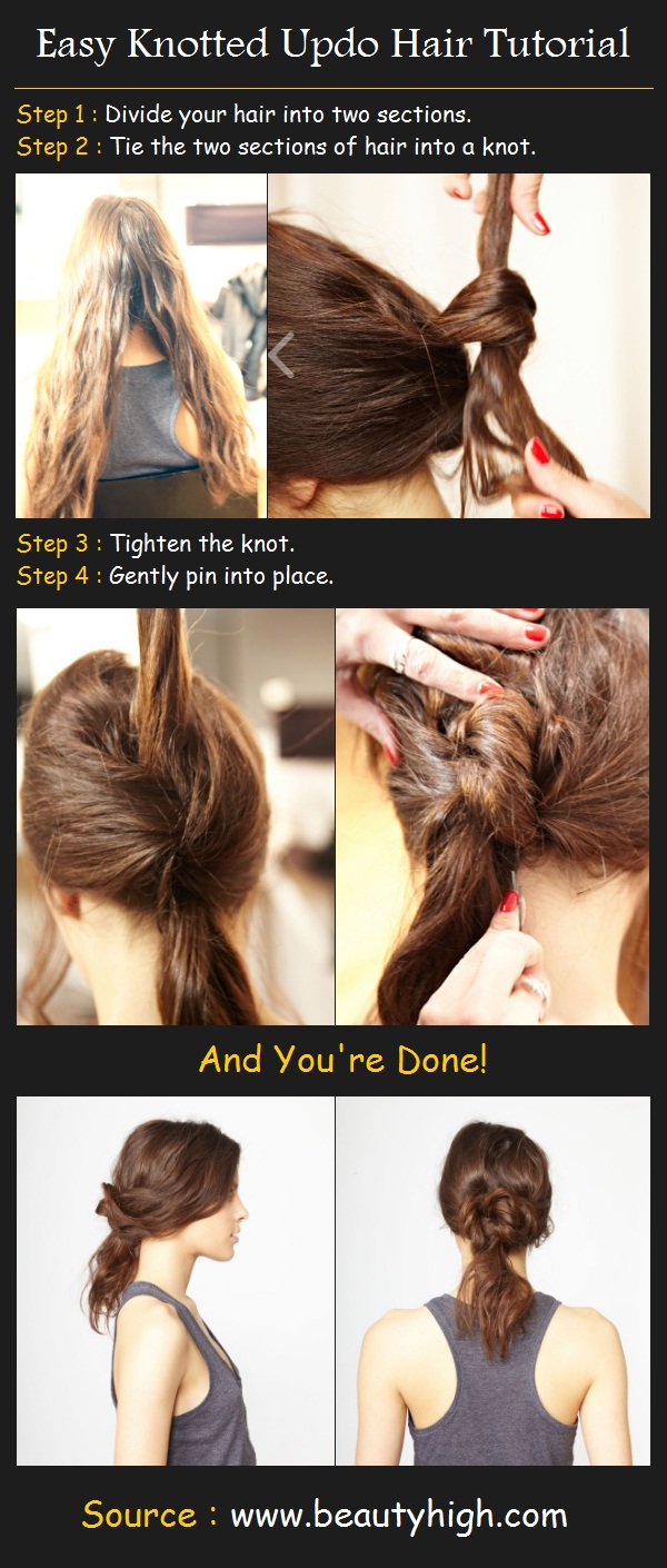 23 Gorgeous Hairstyle Ideas and Tutorials that can be done in 10 minutes  (19)