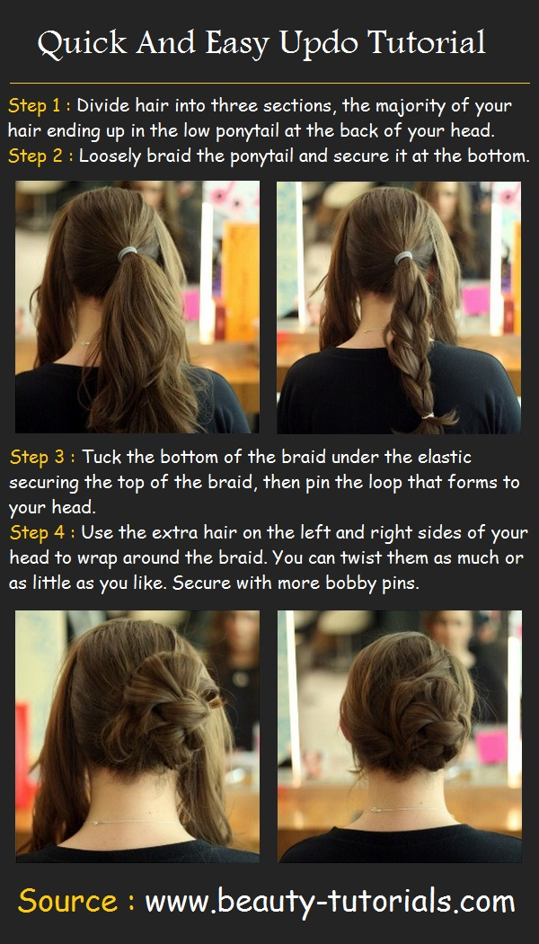 23 Gorgeous Hairstyle Ideas and Tutorials that can be done in 10 minutes  (20)