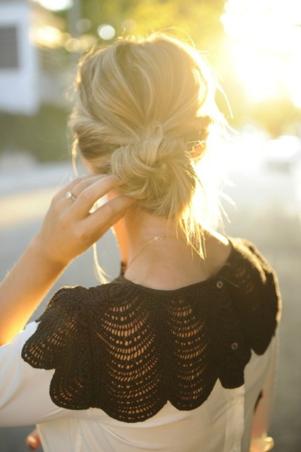 23 Gorgeous Hairstyle Ideas and Tutorials that can be done in 10 minutes  (22)