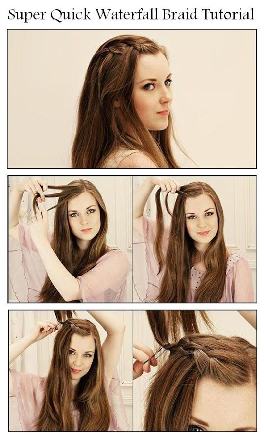 23 Gorgeous Hairstyle Ideas and Tutorials that can be done in 10 minutes  (6)