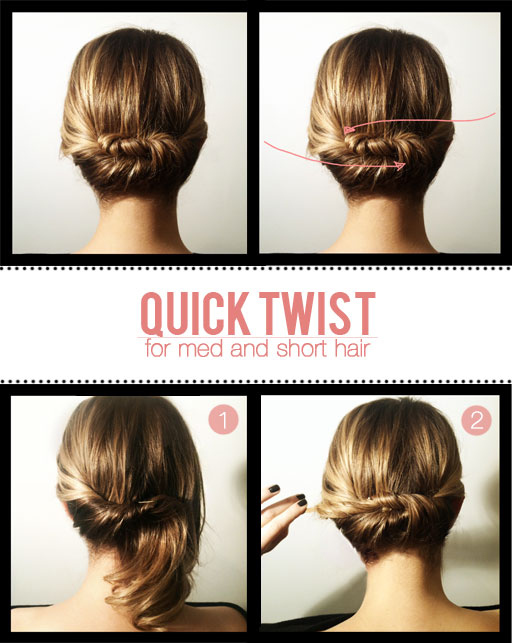 23 Gorgeous Hairstyle Ideas and Tutorials that can be done in 10 minutes  (8)