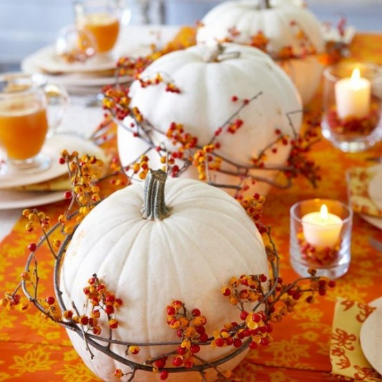 23 Great Fall Decoration Ideas with Pumpkins