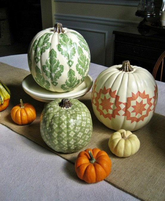 23 Great Fall Decoration Ideas with Pumpkins (5)