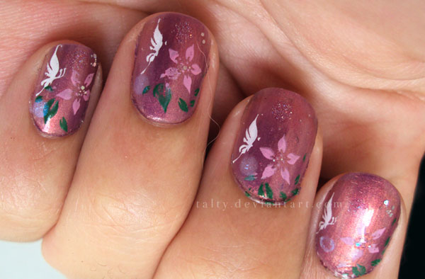 23 Popular Nail Art Ideas for This Season (11)