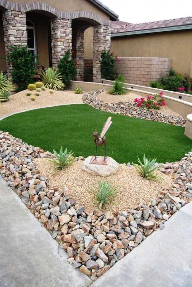 28 Beautiful Small Front Yard Garden Design Ideas - Style ... on Small Landscape Garden Design  id=16759