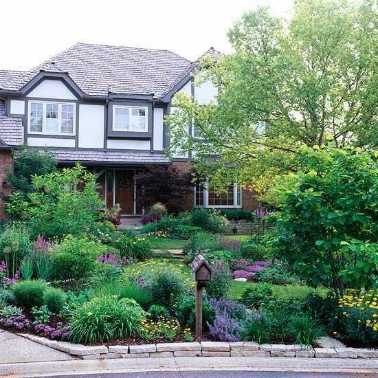 How much cost for front yard landscaping redo ask home for Beautiful front yards