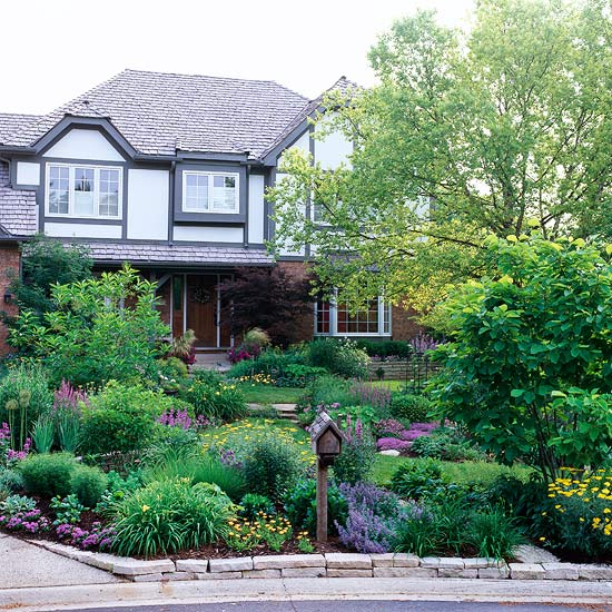 How much cost for front yard landscaping redo ask home for Small front yard ideas