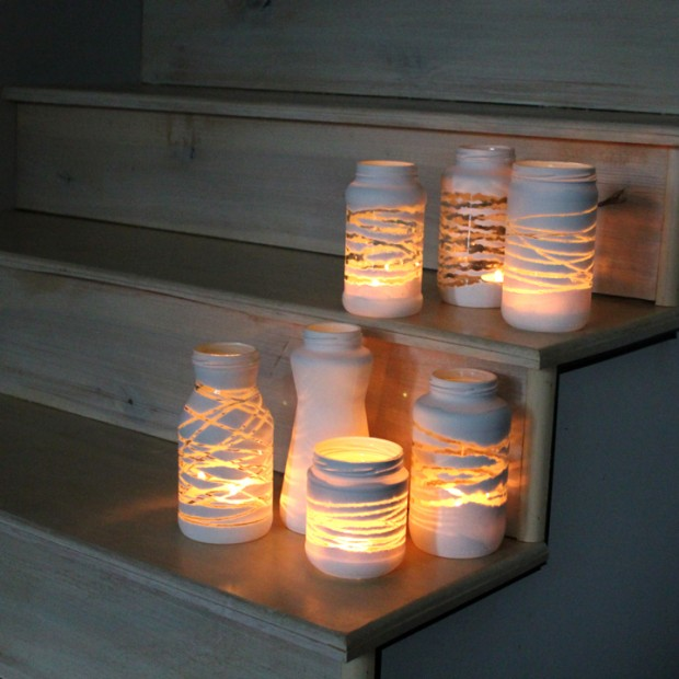 24 Great DIY Decorating Ideas with Mason Jars (1)