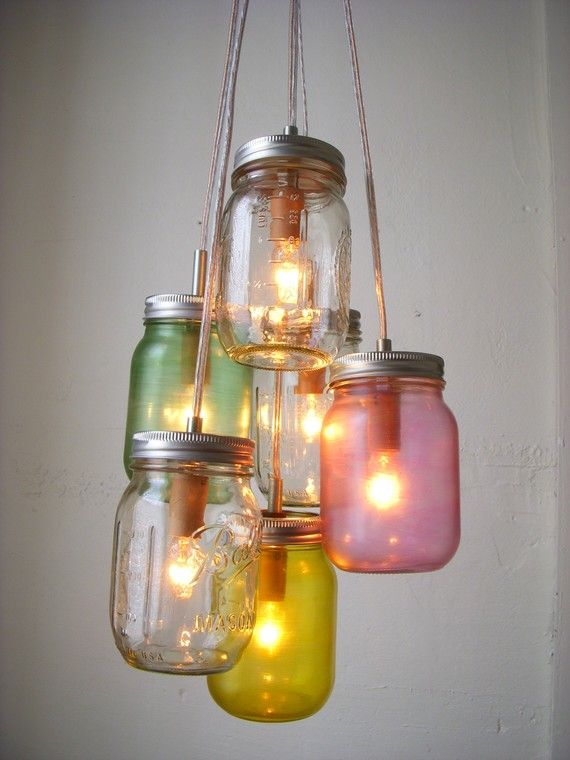 24 Great DIY Decorating Ideas with Mason Jars (12)
