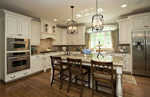 23 great kitchen design ideas in traditional style style for Great kitchen remodel ideas