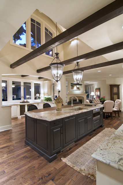 23 great kitchen design ideas in traditional style style for Great kitchen designs