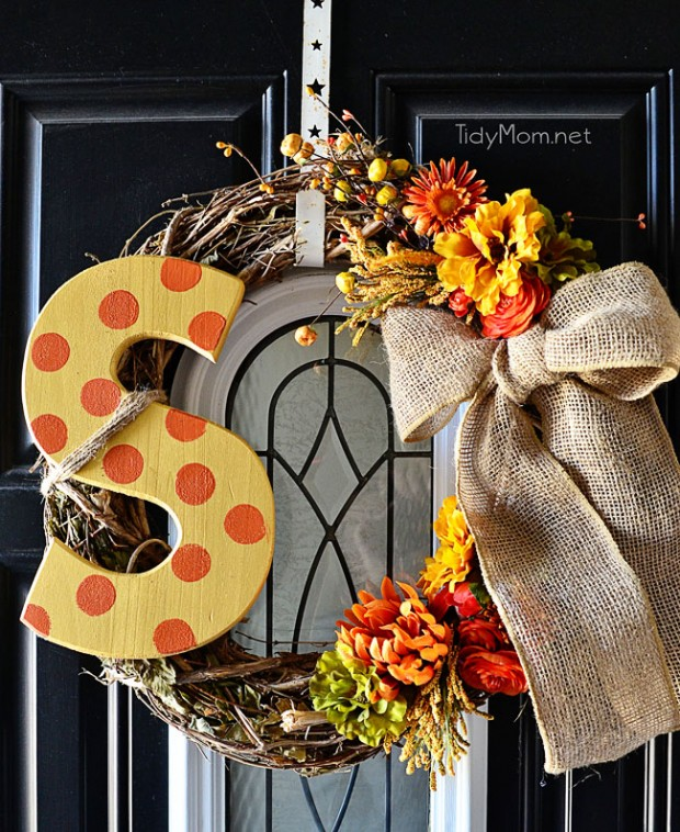 25 Adorable Diy Fall Wreath Ideas Style Motivation