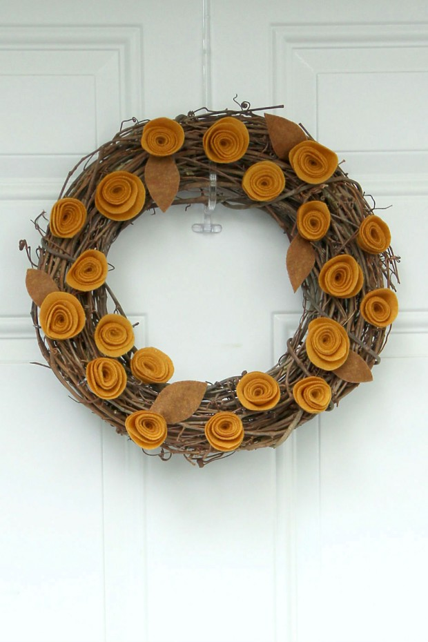 25 Adorable DIY Fall Wreath Ideas