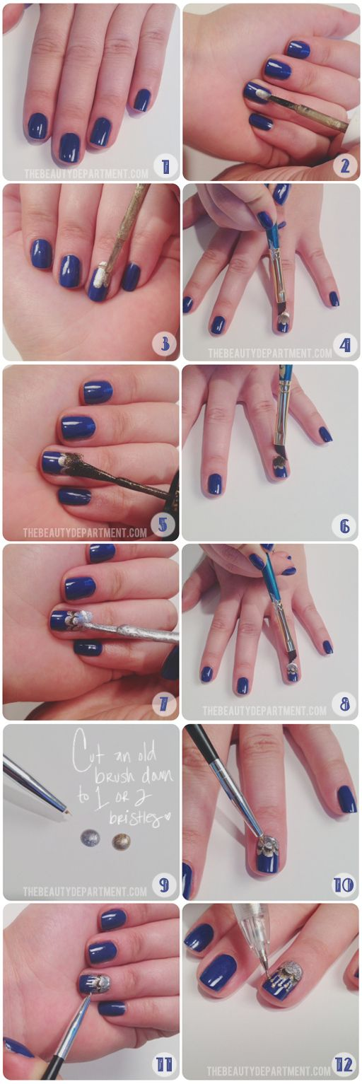 25 Great Nail Art Tutorials for Cute and Fancy Nails (10)
