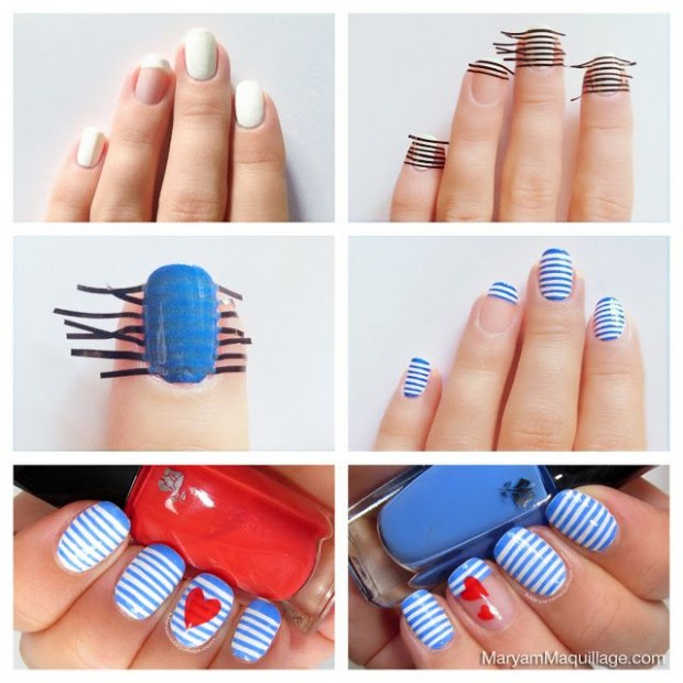 25 Great Nail Art Tutorials for Cute and Fancy Nails (12)