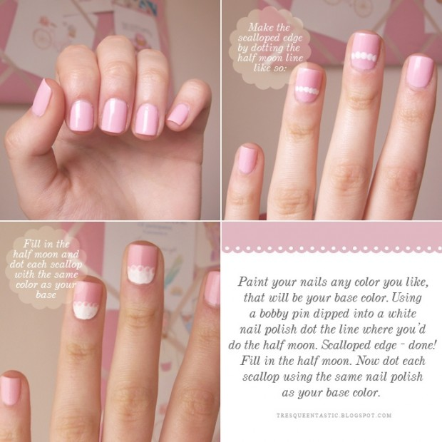 25 Great Nail Art Tutorials for Cute and Fancy Nails (13)