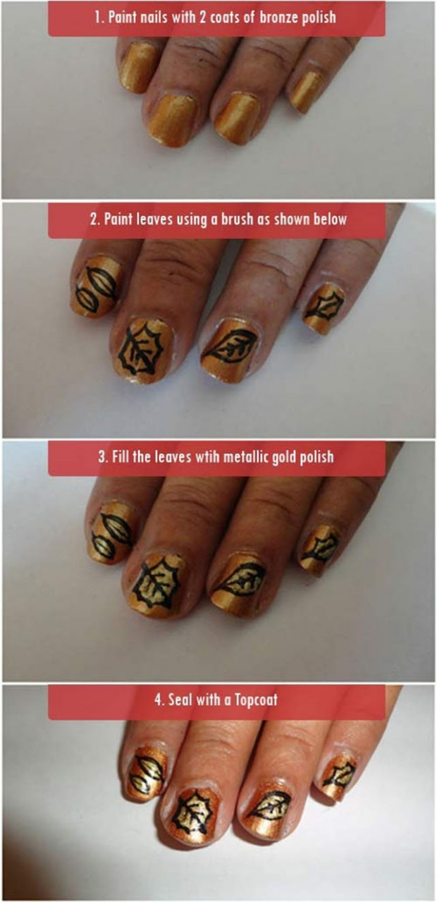 25 Great Nail Art Tutorials for Cute and Fancy Nails (14)