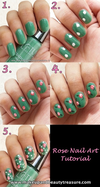 25 Great Nail Art Tutorials for Cute and Fancy Nails (15)