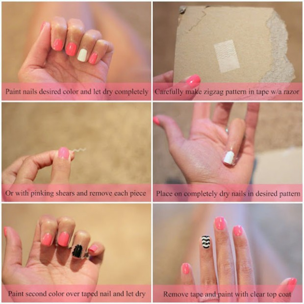 25 Great Nail Art Tutorials for Cute and Fancy Nails (16)