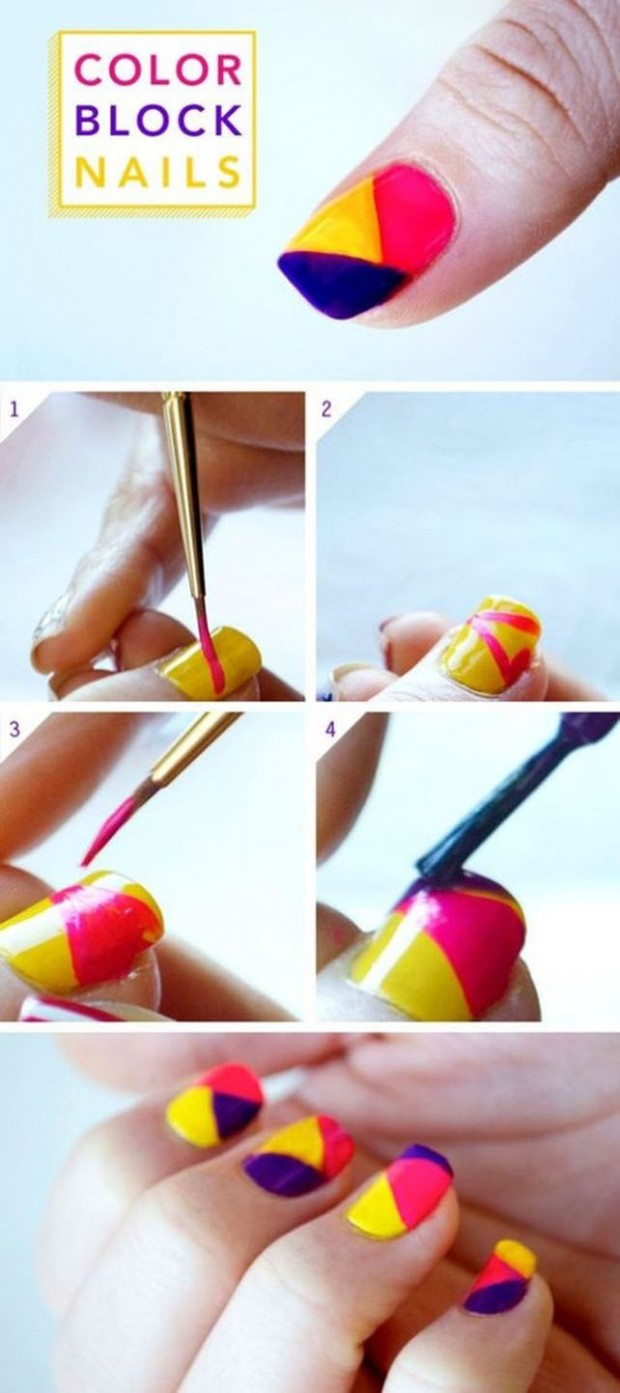 25 Great Nail Art Tutorials for Cute and Fancy Nails (17)