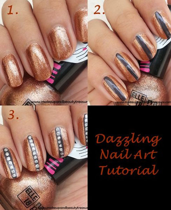 25 Great Nail Art Tutorials for Cute and Fancy Nails (18)